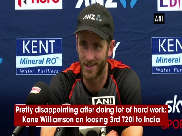 Pretty disappointing after doing lot of hard work: Kane Williamson on loosing 3rd T20I to India