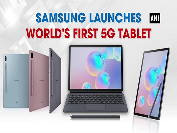 Samsung launches world's first 5G tablet