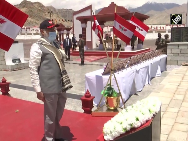 Watch: PM Modi visits Leh's Hall of Fame Museum, pays tribute to fallen soldiers