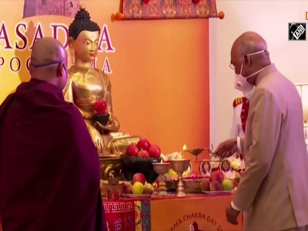 President Kovind inaugurates celebrations organised by IBC on occasion of Asadha Poornima