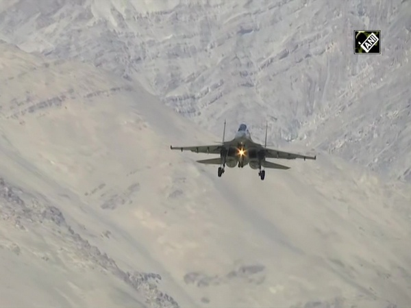 Watch: IAF's fighter aircraft carry out air operations near India-China border