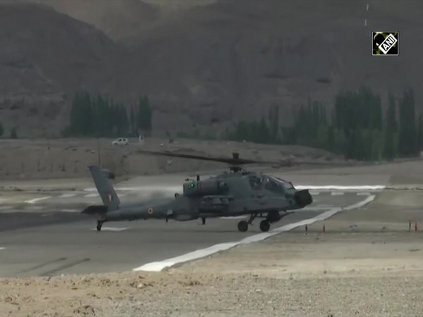 Watch: IAF Apache attack helicopter carrying out air operations near India-China border
