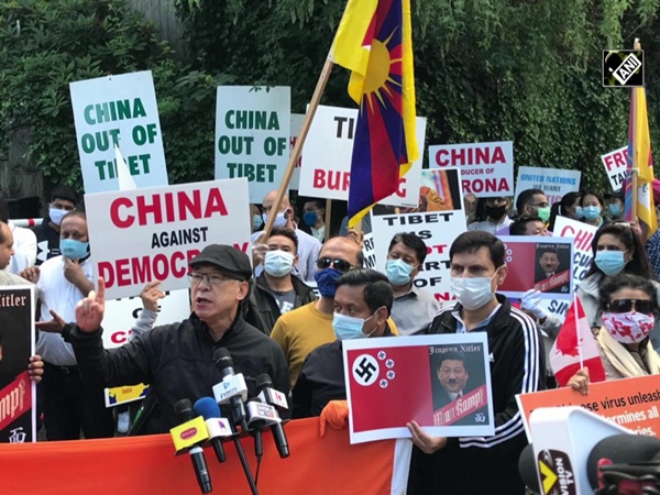 'Friends of India' protest outside Chinese consulate in Vancouver, demand release of detained Canadians in China