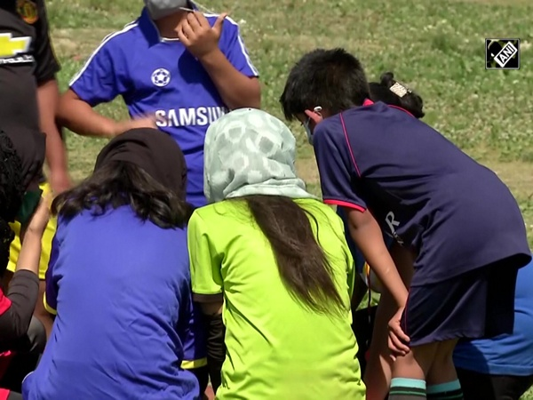 Srinagar woman footballer starts academy to train junior players
