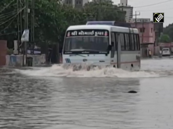 Roads of Gujarat's Dwarka turn into 'pond' after downpour