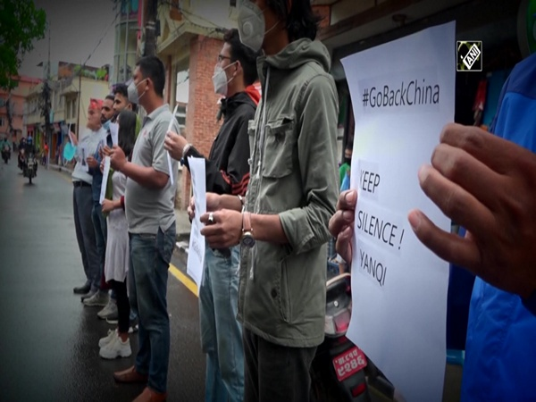 Protest held in front of Chinese Embassy in Nepal against Envoy's political intervention