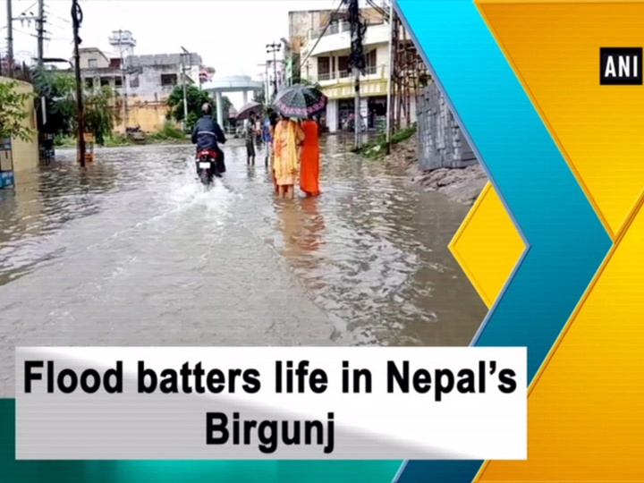 Flood batters life in Nepal's Birgunj
