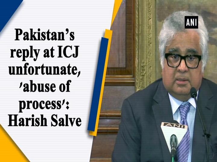 Pakistan's reply at ICJ unfortunate, 'abuse of process': Harish Salve