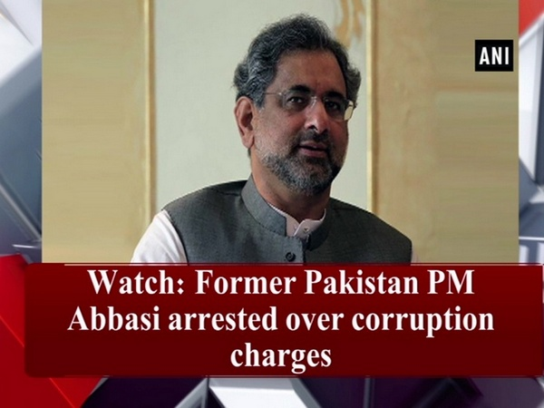 Watch: Former Pakistan PM Abbasi arrested over corruption charges