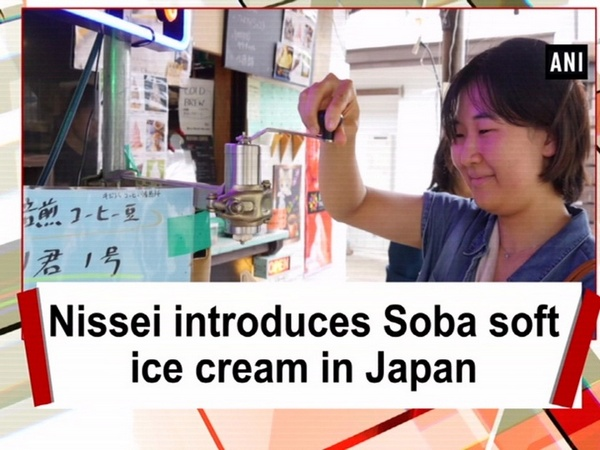 Nissei introduces Soba soft ice cream in Japan