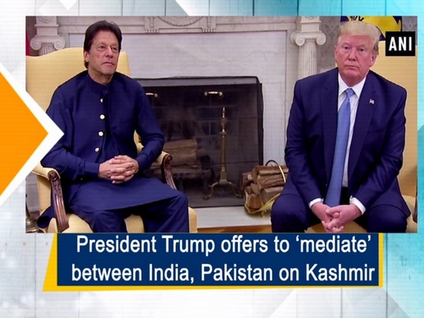 President Trump offers to 'mediate' between India, Pakistan on Kashmir