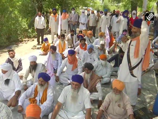 Farmers stage protest against privatisation of electricity board in Punjab's Amritsar