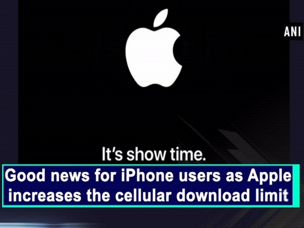 Good news for iPhone users as Apple increases the cellular download limit
