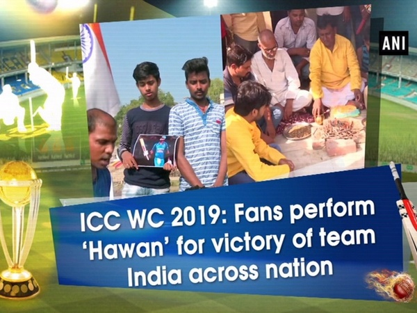 ICC WC 2019: Fans perform 'Hawan' for victory of team India across nation