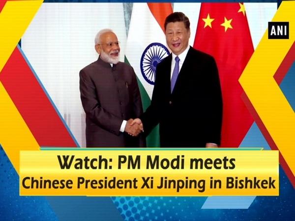 Watch: PM Modi meets Chinese President Xi Jinping in Bishkek