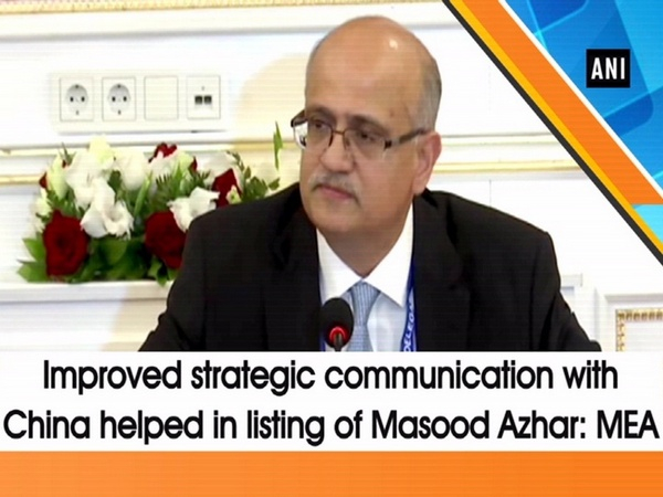 Improved strategic communication with China helped in listing of Masood Azhar: MEA
