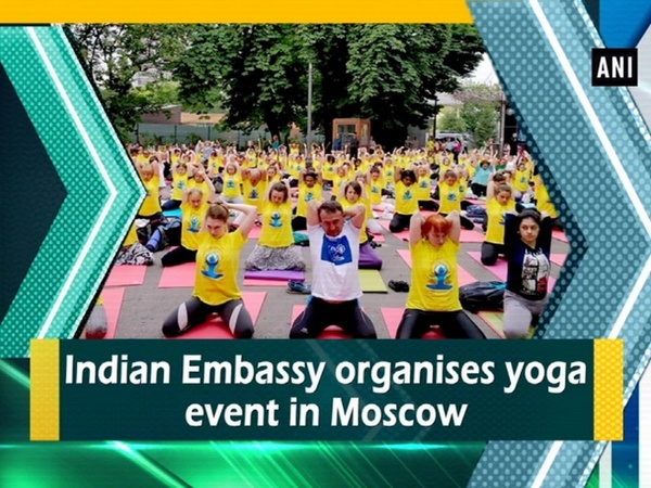 Indian Embassy organises yoga event in Moscow