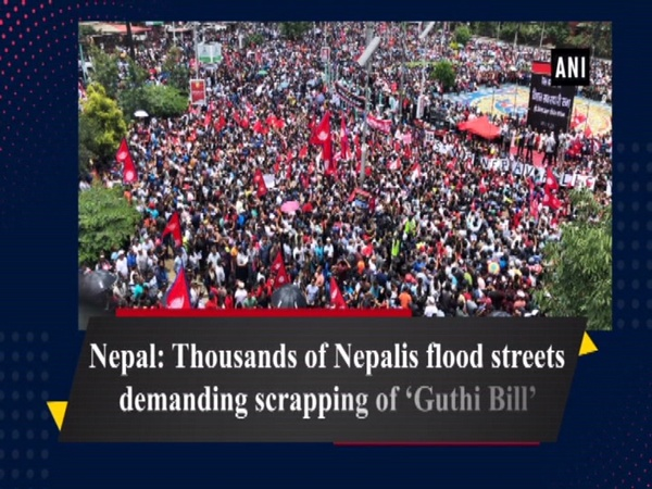 Nepal: Thousands of Nepalis flood streets demanding scrapping of 'Guthi Bill'