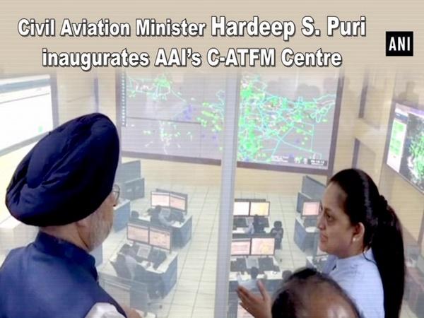Civil Aviation Minister Hardeep S. Puri inaugurates AAI's C-ATFM centre