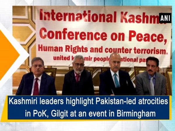 Kashmiri leaders highlight Pakistan-led atrocities in PoK, Gilgit at an event in Birmingham