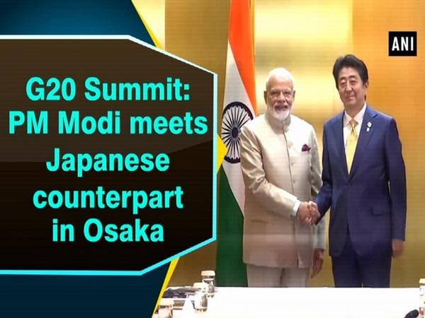 G20 Summit: PM Modi meets Japanese counterpart in Osaka