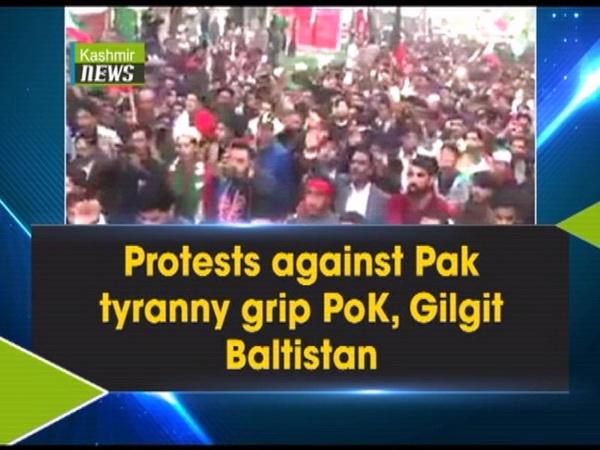 Protests against Pak tyranny grip PoK, Gilgit Baltistan