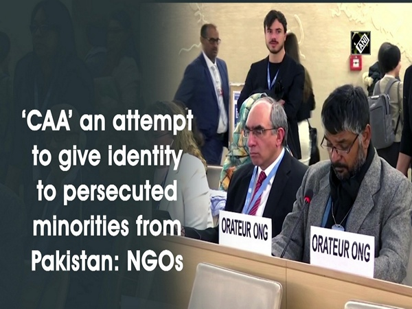 'CAA' an attempt to give identity to persecuted minorities from Pakistan: NGOs