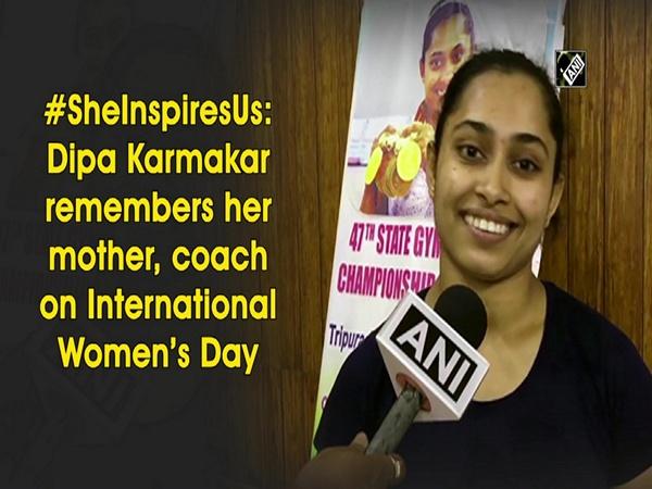 #SheInspiresUs: Dipa Karmakar remembers her mother, coach on International Women's Day