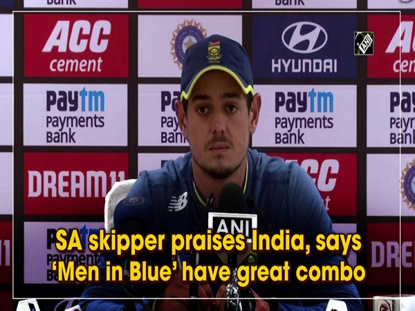 SA skipper praises India, says 'Men in Blue' have great combo