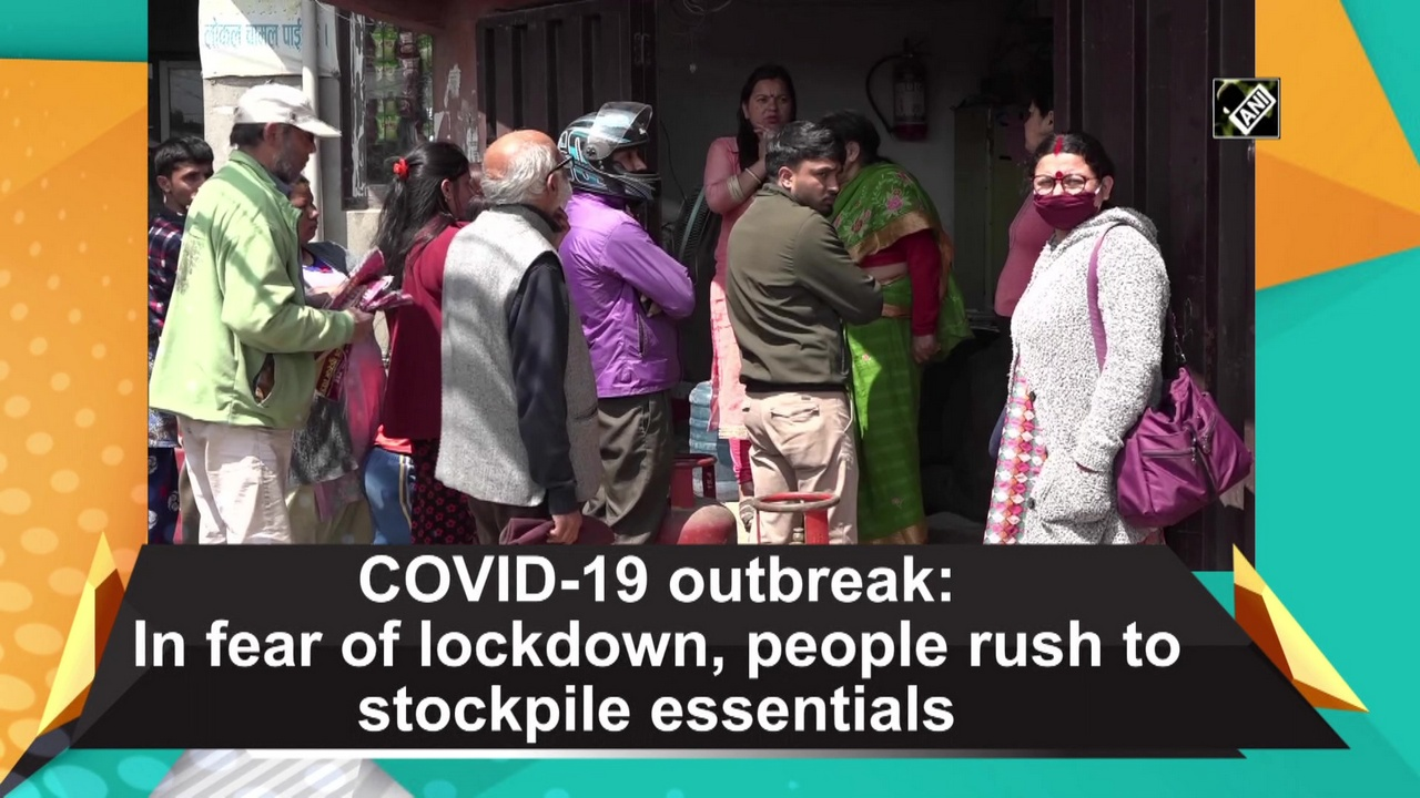 COVID-19 outbreak: In fear of lockdown, people rush to stockpile essentials