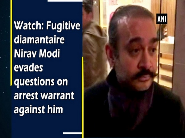 Watch: Fugitive diamantaire Nirav Modi evades questions on arrest warrant against him