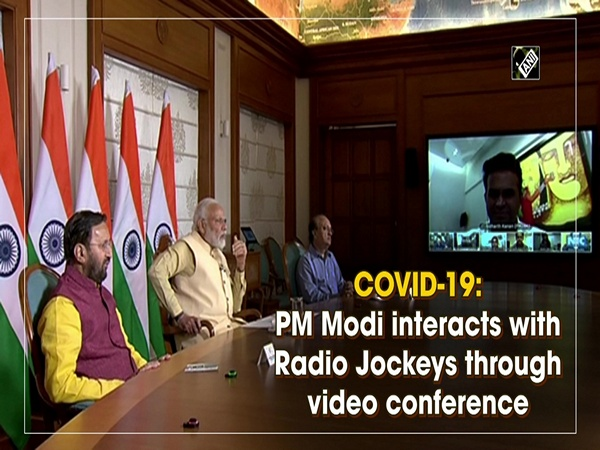 COVID-19: PM Modi interacts with Radio Jockeys through video conference