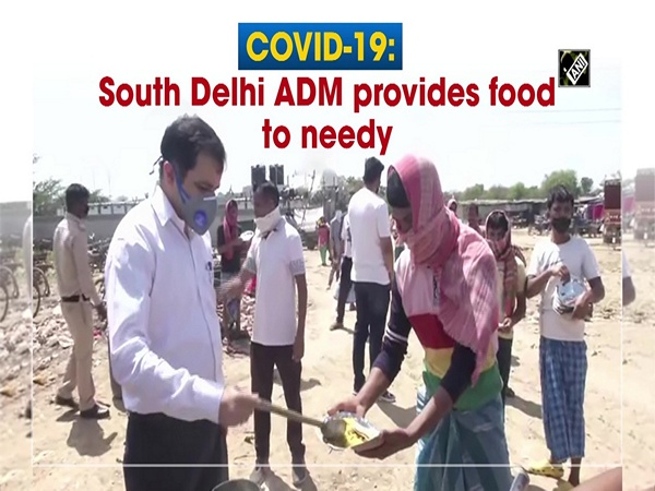 COVID-19: South Delhi ADM provides food to needy