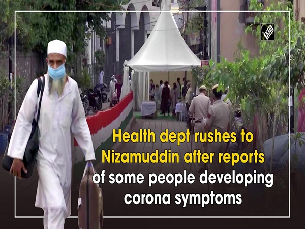 Health dept rushes to Nizamuddin after reports of locals developing corona symptoms