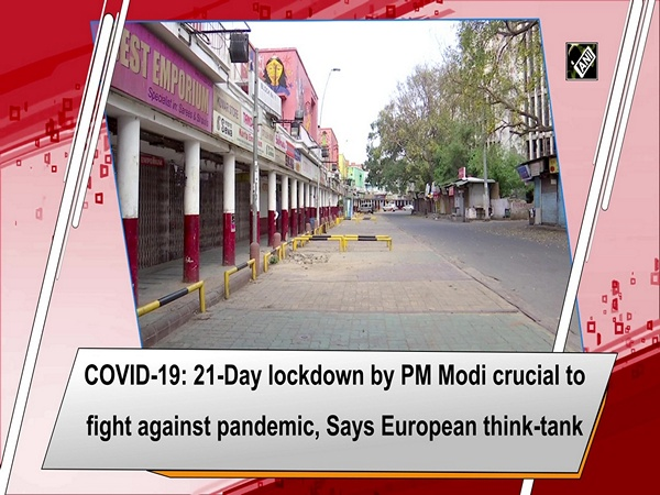 COVID-19: 21-Day lockdown by PM Modi crucial to fight against pandemic, Says European think-tank