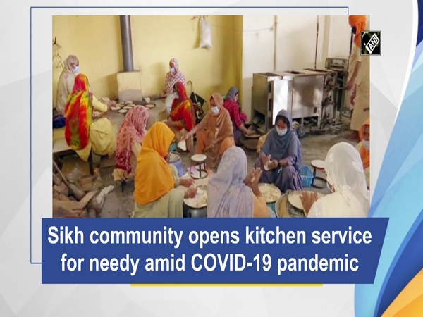 Sikh community opens kitchen service for needy amid COVID-19 pandemic