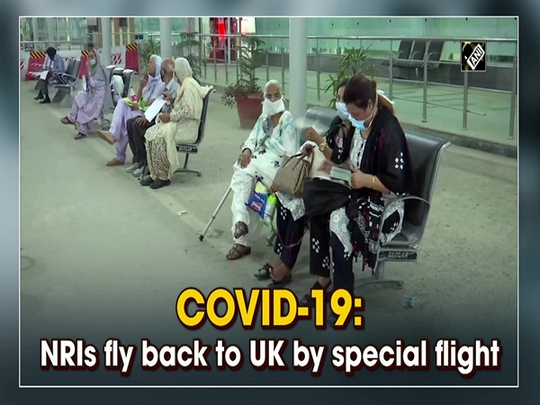 COVID-19: NRIs fly back to UK by special flight