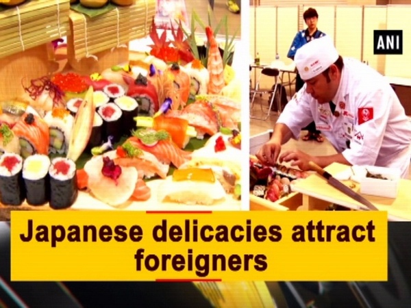 Japanese delicacies attract foreigners