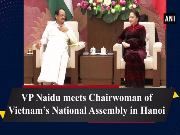 VP Naidu meets Chairwoman of Vietnam's National Assembly in Hanoi