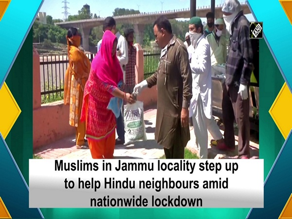 Muslims in Jammu locality step up to help Hindu neighbours amid nationwide lockdown