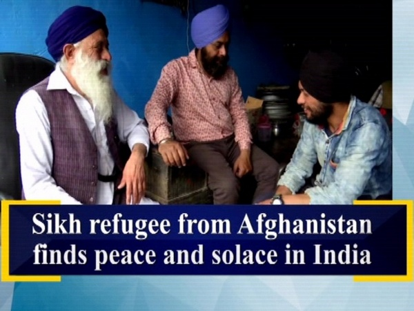 Sikh refugee from Afghanistan finds peace and solace in India