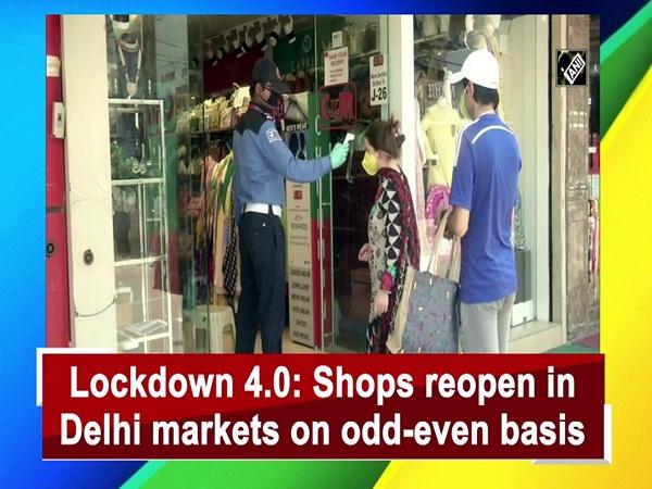 Lockdown 4.0: Shops reopen in Delhi markets on odd-even basis