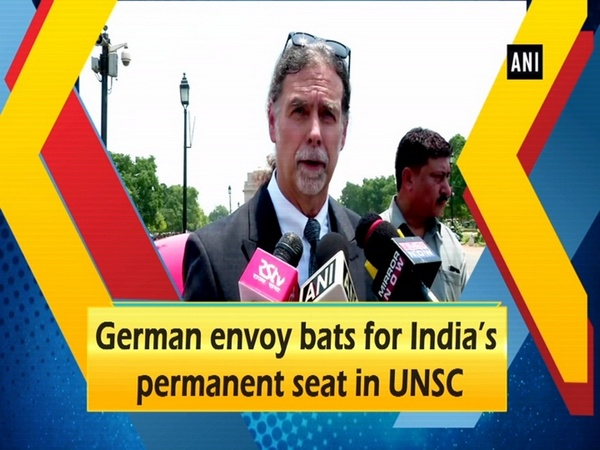 German envoy bats for India's permanent seat in UNSC