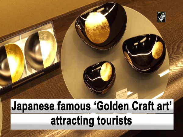 Japanese famous 'Golden Craft art' attracting tourists