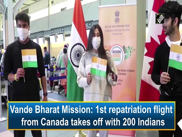 Vande Bharat Mission: 1st repatriation flight from Canada takes off with 200 Indians