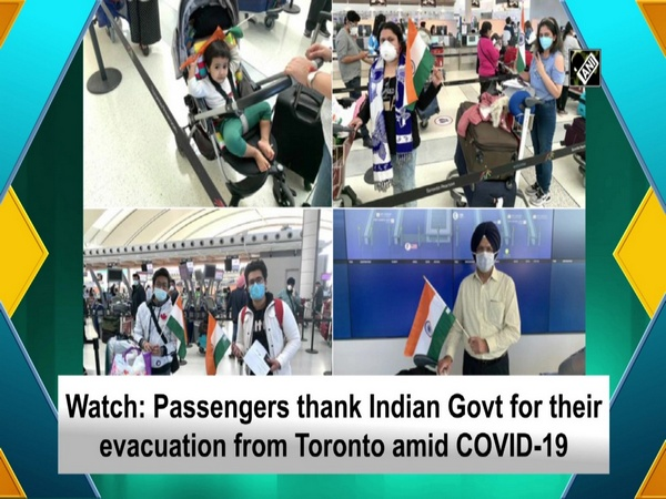 Watch: Passengers thank Indian Govt for their evacuation from Toronto amid COVID-19
