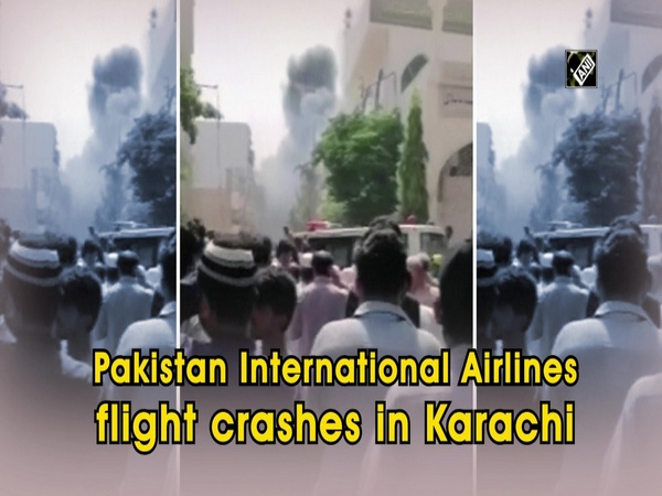 Pakistan International Airlines flight crashes in Karachi
