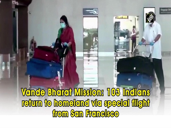Vande Bharat Mission: 103 Indians return to homeland via special flight from San Francisco