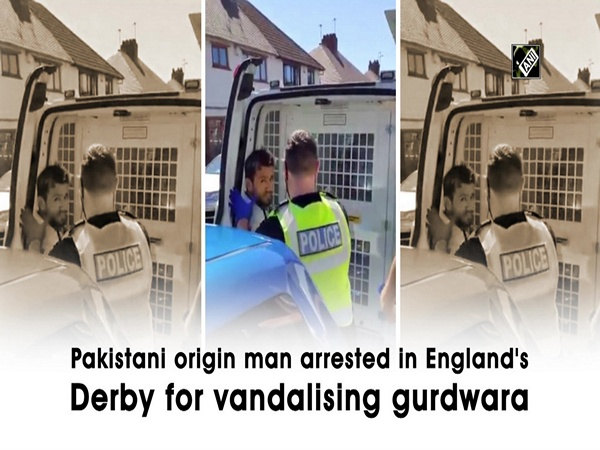 Pakistani origin man arrested in England's Derby for vandalising gurdwara
