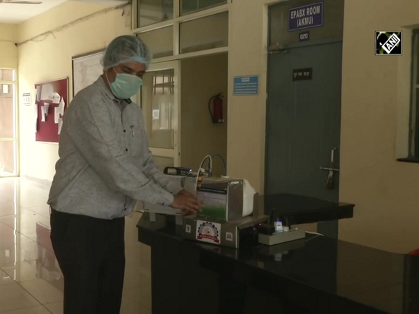Ludhiana scientists develop low-cost 'touch-free' hand sanitiser, disinfection system
